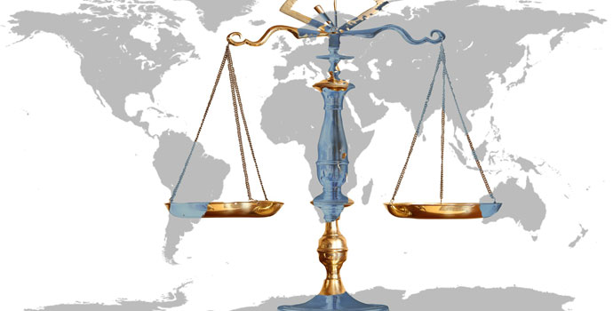 World Balance Scales of Justice